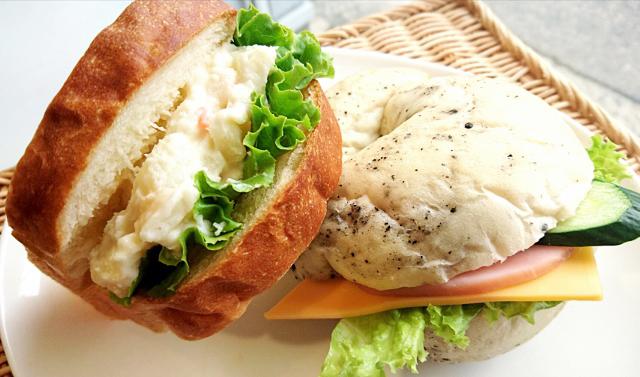 2種セット ハムチーズ&ポテトサラダ 360円(税込み)